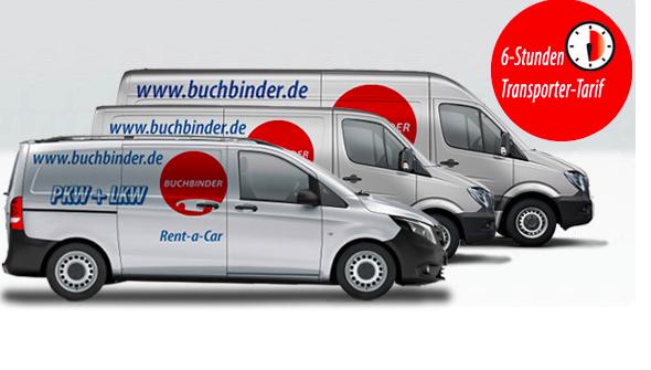 buchbinder rent a car transporter ab 3 75 euro pro stunde. Black Bedroom Furniture Sets. Home Design Ideas