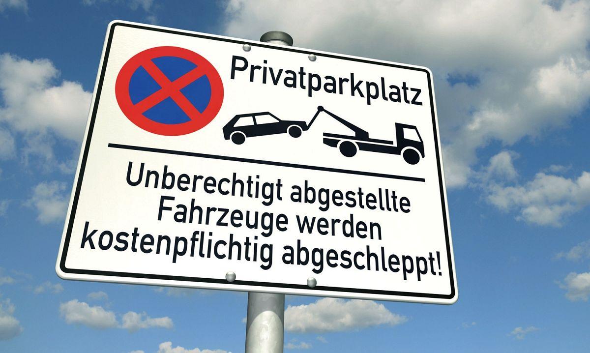 Falschparker Auf Dem Firmenparkplatz Flottede Flottenmanagement