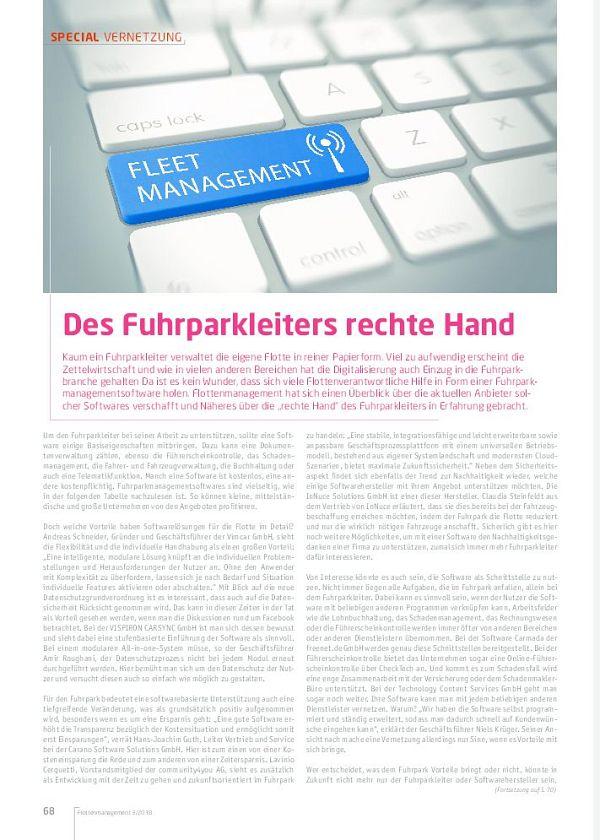 Des Fuhrparkleiters Rechte Hand Flotte De Flottenmanagement Fuhrpark